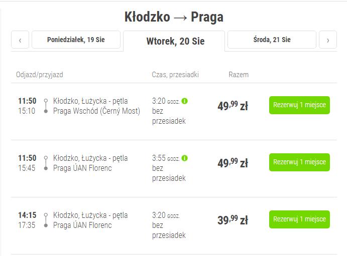 FlixBus-Klodzko-Praga