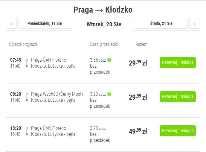 FlixBus-Praga-Klodzko